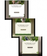 Wildlife Template & WP Themes Graphic with Master Resale Rights