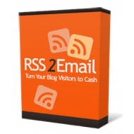 RSS 2 Email Software with private label rights