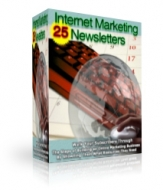24 Internet Marketing Newsletters Software with Master Resale Rights