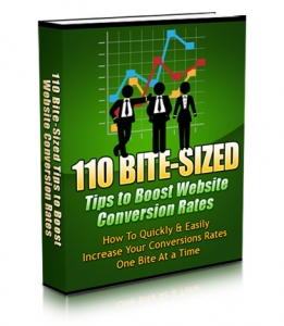 110 Bite-Sized Tips To Boost Website Conversion Rates