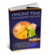Online Time Management eBook with Master Resale Rights