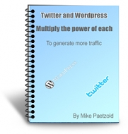 Twitter And Wordpress eBook with Private Label Rights