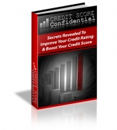 Credit Score Confidential eBook with private label rights