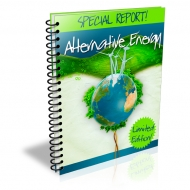 Special Report : Alternative Energy eBook with Private Label Rights