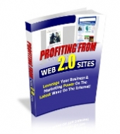 Profiting From Web 2.0 Sites eBook with Private Label Rights