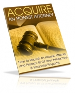 Acquire An Honest Attorney eBook with private label rights