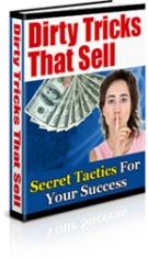 Dirty Tricks That Sell eBook with Master Resell Rights