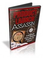 Product Launch Assassin Video with Private Label Rights
