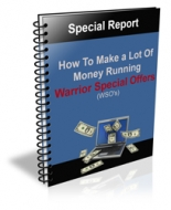 How to Make a Lot Of Money Running WSO's eBook with Private Label Rights