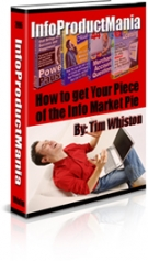 Info Product Mania eBook with Master Resell Rights