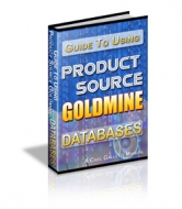 18 Product Source Goldmine Databases Software with Resale Rights
