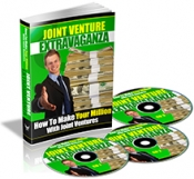 Joint Venture Extravaganza eBook with Private Label Rights