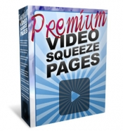Premium Video Squeeze Pages Graphic with Personal Use Rights