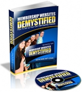 Membership Websites Demystified eBook with Private Label Rights