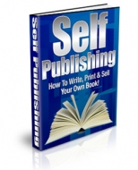 Self Publishing eBook with Private Label Rights