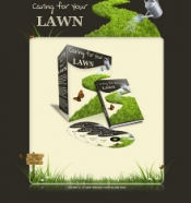 Caring For Your Lawn Graphic with Personal Use Rights