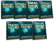 350 Sales & Marketing Tactics eBook with Master Resale Rights