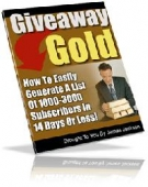 Giveaway Gold eBook with Resell Rights