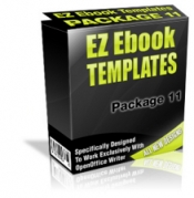 EZ Ebook Templates Package 11 Template with Master Resale Rights