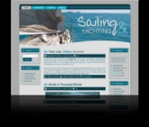 Sailing WP Theme Template with Master Resale Rights