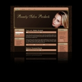 Beauty Salon WP Theme Template with Master Resale Rights