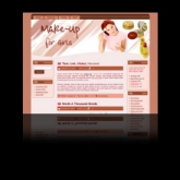 Makeup WP Theme Template with Master Resale Rights