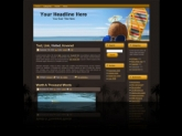 Sandals WP Theme Template with Master Resale Rights