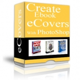 Create eBook Covers With Photoshop Software with private label rights