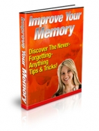 Improve Your Memory eBook with Private Label Rights