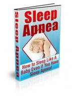 Sleep Apnea eBook with Private Label Rights