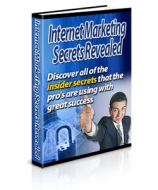 Internet Marketing Secrets Revealed eBook with Private Label Rights