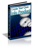 Create Your Own Info Product eBook with Master Resale Rights