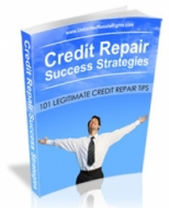 Credit Repair Success Strategies eBook with private label rights