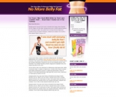 Belly Fat Landing Page Template Template with Personal Use Rights