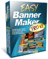 Easy Banner Maker Pro V2 Graphic with Personal Use Rights