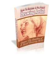 How To Become A Pro Pencil Drawing Artist eBook with private label rights