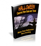 Halloween - Creative New Ideas And Tricks eBook with Master Resale Rights