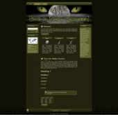 Scary Halloween WP Theme Template with Master Resale Rights