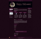 Halloween Witch WP Theme Template with Master Resale Rights