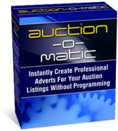 Auction-O-Matic Software with Master Resale Rights