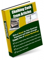 Chalking Cash From Articles eBook with Master Resale Rights