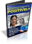 Using Power of Positive Thinking eBook with Resell Rights