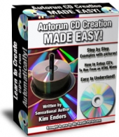 Autorun CD Creation Made Easy! eBook with Master Resale Rights