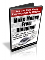 Make Money From Blogging! Video with Personal Use Rights