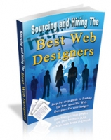 Sourcing The Best Web Designers eBook with private label rights