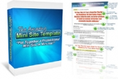 The Amazing Minisite Template Template with Personal Use Rights