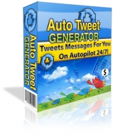 Auto Tweet Generator Software with Master Resale Rights