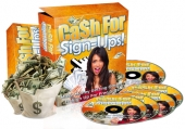 Cash For Sign-Ups! Video with Personal Use Rights