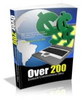 Over 200 Instant Commission Sites eBook with Giveaway Rights