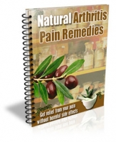 Natural Arthritis Pain Remedies eBook with private label rights